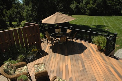 Image of a custom composite deck