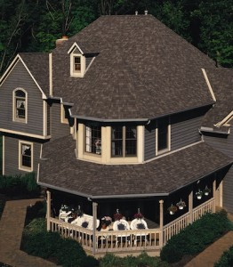 Image of asphalt roofing
