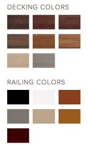 Deck Color Options