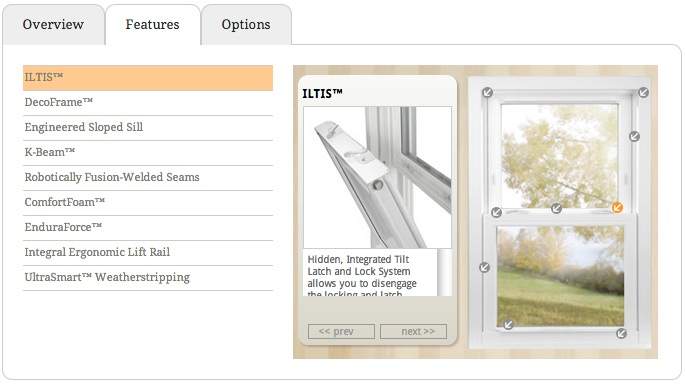 Soft-Lite Elements Feature options