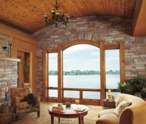 Marvin Integrity Triple-Casement Window With Awnings