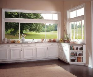 Soft-Lite Elements Triple Slider With Transom