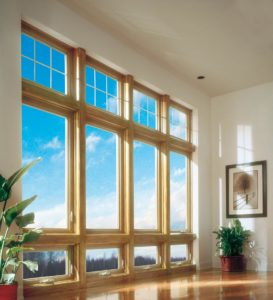 Soft-Lite Quad Casement With Transom and Awning