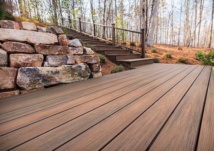 Treks Decking Installation Northern Virginia Deck